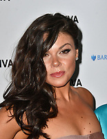 Faye Brookes at the DIVA Magazine Awards - Lesbian and bisexual magazine hosts annual awards ceremony at Waldorf Hilton, London, 8th June 2018, England, UK.<br /> CAP/JOR<br /> &copy;JOR/Capital Pictures