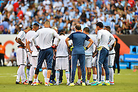East Rutherford, NJ - Sunday June 26, 2016: Argentina  prior to a Copa America Centenario finals match between Argentina (ARG) and Chile (CHI) at MetLife Stadium.