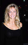 Heather Locklear Having Dinner at Spago Restaurant, in Los Angeles, California. September 1, 1990