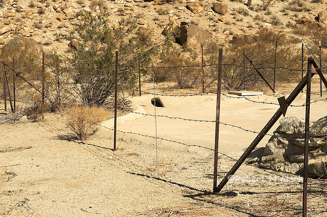 Guzzlers, the water source for birds and small mammals in the desert