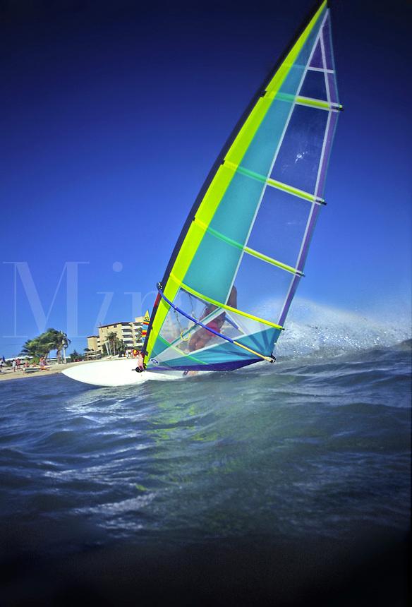 Windsurfer, South Beach, Florida<br />
