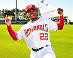 2010-02-28 MLB: Nationals Photo Day Portraits