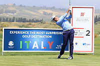 Edoardo Raffaele Lipparelli (ITA) during the first round of the Rocco Forte Sicilian Open played at Verdura Resort, Agrigento, Sicily, Italy 10/05/2018.<br /> Picture: Golffile | Phil Inglis<br /> <br /> <br /> All photo usage must carry mandatory copyright credit (&copy; Golffile | Phil Inglis)