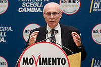 Primo Di Nicola<br /> <br /> Roma 29/01/2018. Presentazione dei candidati nelle liste uninominali del Movimento 5 Stelle.<br /> Rome January 29th 2018. Presentation of the candidates for Movement 5 Stars.<br /> Foto Samantha Zucchi Insidefoto