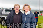 Eileen O'Connell from Ballyheigue and Peggy Carey originally from Ballyheigue now living in Bristol enjoying the Ballyheigue pig Race on Thursday