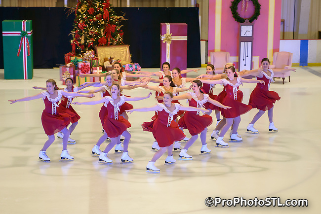 The Nutcracker on Ice presented by Metro Edge Figure Skating Club at Webster Groves Ice Arena in Webster Groves, MO on Dec 8, 2012.