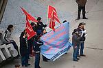 Istanbul, Turkey, Beyoglu, district, Istiklal Caddesi, young protesting, popular street promenade,