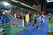3rd October 2017, Ewood Park, Blackburn, England; Football League Trophy Group stage, Blackburn Rovers versus Bury; Bury and Blackburn walk out of the tunnel before the game