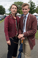 Henley on Thames. United Kingdom.  Netherlands tradition of passing on club blazers to the next generation [these are about 50 years old,    Thursday,  30/06/2016,      2016 Henley Royal Regatta, Henley Reach.   [Mandatory Credit Peter Spurrier/ Intersport Images]