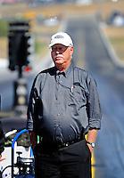 Jul. 18, 2010; Sonoma, CA, USA; NHRA senior vice president Graham Light during the Fram Autolite Nationals at Infineon Raceway. Mandatory Credit: Mark J. Rebilas-