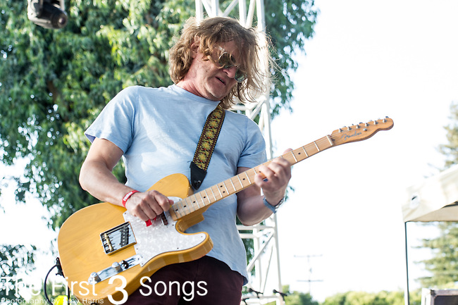 Scott Johnson of Gin Blossom performs at the 2nd Annual BottleRock Napa Festival at Napa Valley Expo in Napa, California.