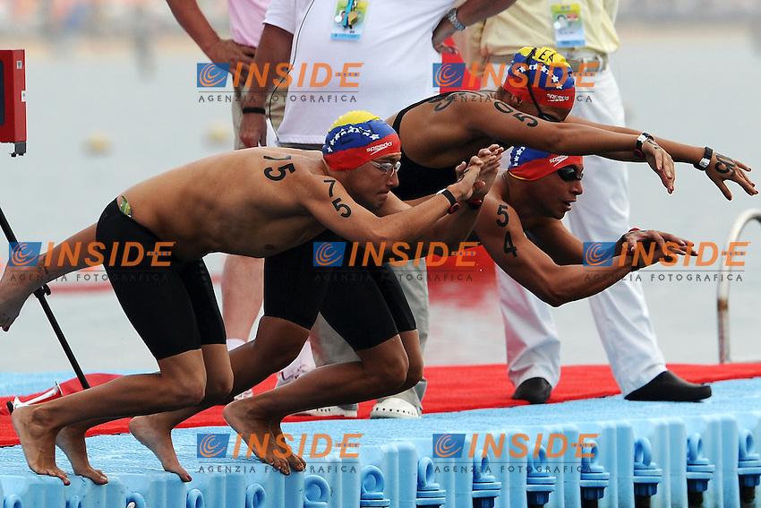 Venezuela.Team Open Water 5 Km.Shanghai 21/7/2011 .14th FINA World Championships.Foto Andrea Staccioli Insidefoto