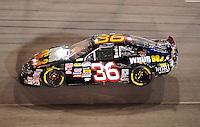 May 1, 2009; Richmond, VA, USA; NASCAR Nationwide Series driver Marc Davis during the Lipton Tea 250 at the Richmond International Raceway. Mandatory Credit: Mark J. Rebilas-