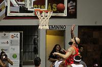 RECIFE, PE, 10.03.2016 - LIGA OURO - BASQUETE - Ponto do Ricardo Taroas na partida. Sport Recife (PE) enfrenta o Vasco da Gama (RJ) pela Liga Ouro de Basquete, durante esta quinta-feira (10).  O jogo acontece na Ilha do Retiro, no Ginásio Marcelino Lopes, no Recife (PE).   (Foto: Diego Herculano / Brazil Photo Press)