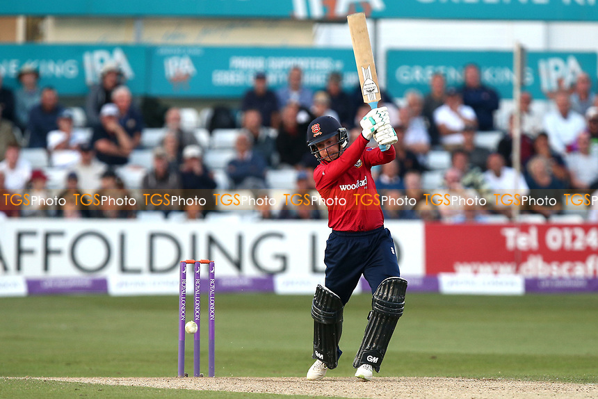 Adam Wheater of Essex hits out during Essex Eagles vs Yorkshire Vikings, Royal London One-Day Cup Play-Off Cricket at The Cloudfm County Ground on 14th June 2018