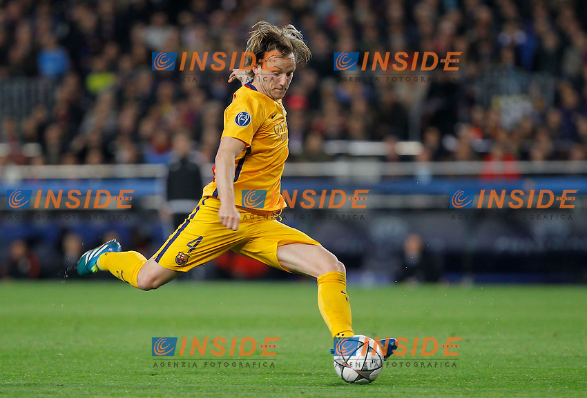 rakitic (barca)<br />  <br /> Barcellona 05-04-2016 <br /> Football Calcio 2015/2016 Champions League <br /> Barcellona - Atletico Madrid Quarti di finale<br /> Foto Panoramic / Insidefoto <br /> ITALY ONLY