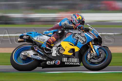 26th August 2017, Silverstone Circuit, Northamptonshire, England; British MotoGP, Qualifying; EG 0,0 Marc VDS MotoGP rider Jack Miller