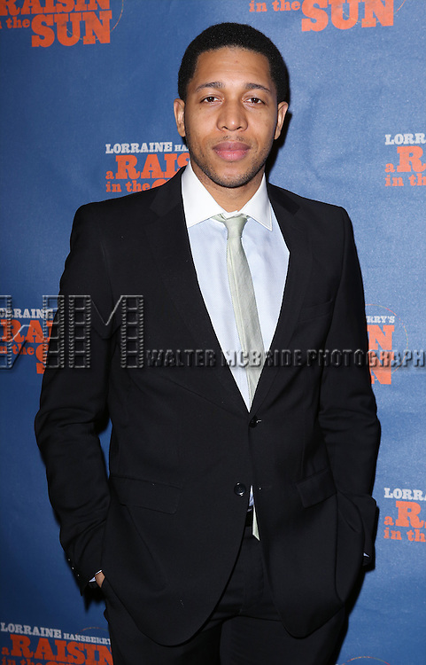 "Keith Eric Chappelle attends the Broadway Opening Night After Party for  ""A Raisin In The Sun"" at Tribeca Rooftop on April 3, 2014 in New York City."