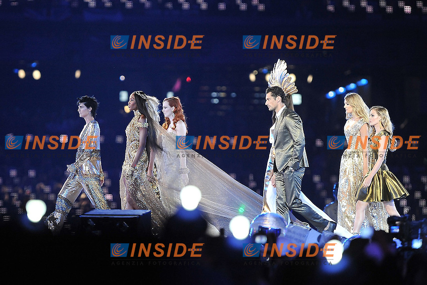 .Londra 12/08/2012 Olympic Stadium.London 2012 Olympic Games Closing Ceremony.Olimpiadi Londra 2012 Cerimonia d chiusura.Foto Insidefoto Giovanni Minozzi.