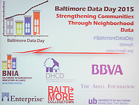 Baltimore Data Day 2015