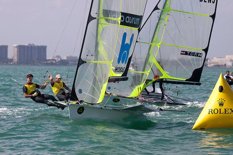 AUT 084, Fleet: 49er, Crew: Nico Luca Marc Delle Karth, Nikolaus Resch, Country: AUT
