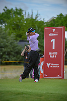 Chiripat Jao-Javanil (THA) watches her tee shot on 1 during round 1 of  the Volunteers of America LPGA Texas Classic, at the Old American Golf Club in The Colony, Texas, USA. 5/4/2018.<br /> Picture: Golffile | Ken Murray<br /> <br /> <br /> All photo usage must carry mandatory copyright credit (&copy; Golffile | Ken Murray)