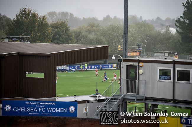 Chelsea 0 Arsenal 5, 14/10/2018. Cherry Red Records Stadium, FA Women's Super League. Photo by Simon Gill.