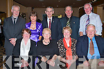 KILFLYNN DANCERS: Having a great time at the Kilflynn Dancing Group social dinner and dance at Ballyroe Heights Hotel on Thursday seated l-r: Maureen Silles, Bernie Cahill, Bridget McCarthy and Tom Diggin. Back l-r: Joe Gilbride, Lucy Silles, Pattie O'Shea, Mike Casey and Sonny McCarthy.   Copyright Kerry's Eye 2008