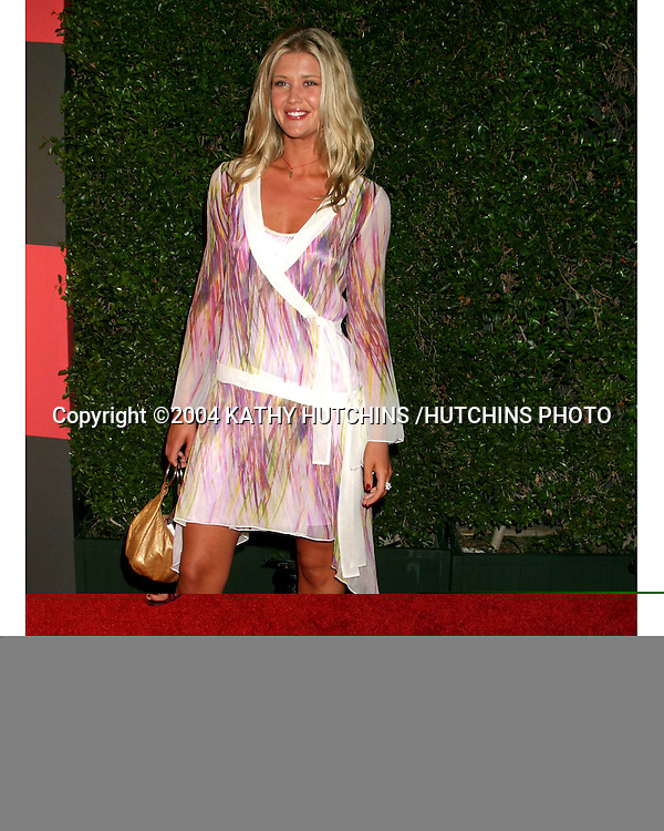 ©2004 KATHY HUTCHINS /HUTCHINS PHOTO.EMMY NOMINEE RECEPTION.ENTERTAINMENT WEEKLY PRE EMMY PARTY.SEPTEMBER 18, 2004..SARAH LANCASTER