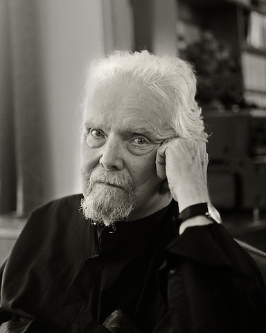 Anselm Hollo, 2010.  Poet.