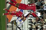 Syria vs China during the Olympic Preliminary Qualifier match. Photo by World Sport Group