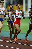 Zulla Calatayud ran 2:01.81sec. in the 1st. round of the 800m on Saturday, August 25 2007. Photo by Errol Anderson, The Sporting Image.Assorted images of the 11th. World  Track and Field Championships held in Osaka, Japan.