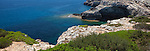 Felsenbucht bei Portocolom, Mallorca (Majorca), Spanien, Espana, Spain