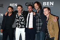 LOS ANGELES - AUG 4:  Misha Collins, Jensen Ackles, Stephen Amell, Jared Padalecki, Alexander Calvert at the  CW Summer TCA All-Star Party at the Beverly Hilton Hotel on August 4, 2019 in Beverly Hills, CA