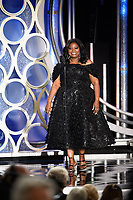 Octavia Spencer presents at the 76th Annual Golden Globe Awards at the Beverly Hilton in Beverly Hills, CA on Sunday, January 6, 2019.<br /> *Editorial Use Only*<br /> CAP/PLF/HFPA<br /> Image supplied by Capital Pictures