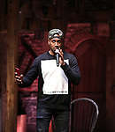Bryan Terrell Clark during their #EduHam Q & Aon January 31, 2018 at the Richard Rodgers Theatre in New York City.