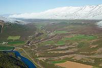 Garðar eyðibýli séð til norðurs, Fnjóskárdalur, Flateyjardalsheiði, Þingeyjarsveit  áður Hálshreppur / Gardar former farmsite viewing north. Fnjoskardalur, Flateyjardalsheidi. Thingeyjarsveit former Halshreppur