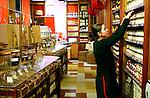 PARIS - FRANCE - 15 APRIL 2004--The spice department at the fine food shop Hediard at Place de la Madeleine.-- PHOTO: ERIK LUNTANG / EUP-IMAGES