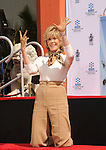Jane Fonda Hand and Footprint Ceremony 4-27-13