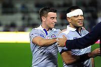 George Ford of Bath Rugby looks on after the match. Aviva Premiership match, between Exeter Chiefs and Bath Rugby on October 30, 2016 at Sandy Park in Exeter, England. Photo by: Patrick Khachfe / Onside Images