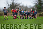 Andrew O'Reilly Killorglin peels off the back of the scrum against Killarney on Sunday