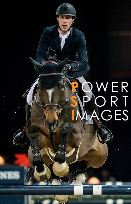 Pieter Devos of Belgium rides Dream of India Greenfield in action during the Longines Grand Prix as part of the Longines Hong Kong Masters on 15 February 2015, at the Asia World Expo, outskirts Hong Kong, China. Photo by Victor Fraile / Power Sport Images