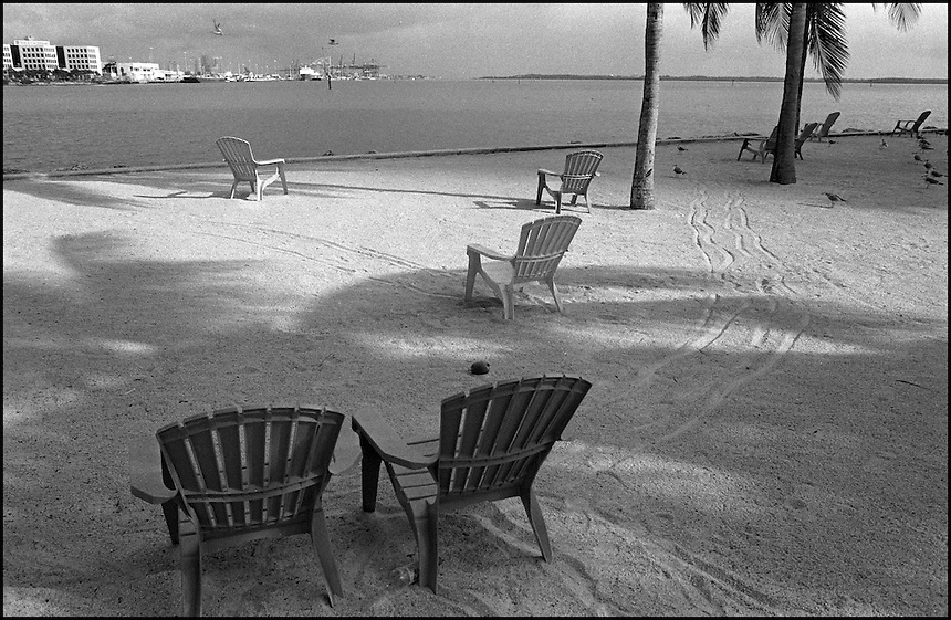 "From ""Miami in Black and White"" series.<br />