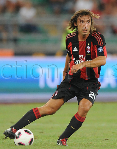 13 08 2010 Serie A - AC Milan,  Andrea Pirlo
