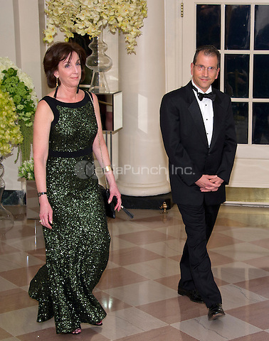 Roberta Jacobson, Assistant Secretary of State for Western Hemisphere Affairs, U .S. Department of State and Jonathan Jacobson arrive for the State Dinner in honor of Prime Minister Trudeau and Mrs. Sophie Gr&Egrave;goire Trudeau of Canada at the White House in Washington, DC on Thursday, March 10, 2016.<br /> Credit: Ron Sachs / Pool via CNP/MediaPunch