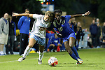 16 October 2015: North Carolina's Alexa Newfield (88) and Duke's Toni Payne (10). The University of North Carolina Tar Heels hosted the Duke University Blue Devils at Fetzer Field in Chapel Hill, NC in a 2015 NCAA Division I Women's Soccer game. Duke won the game 1-0.