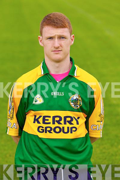Kieran Culhane member of the Kerry Junior panel 2013.