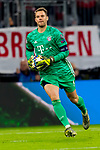 06.11.2019, Allianz Arena, Muenchen, GER, UEFA CL, FC Bayern Muenchen (GER) vs Olympiakos Piraeus (GRC), Gruppe E, UEFA regulations prohibit any use of photographs as image sequences and/or quasi-video, im Bild Manuel Neuer (FCB #1) <br /> <br /> Foto © nordphoto / Straubmeier