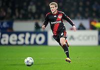 FUSSBALL   CHAMPIONS LEAGUE   SAISON 2011/2012   GRUPPENPHASE Bayer 04 Leverkusen - FC Chelsea    23.11.2011 Andre SCHUERRLE (Leverkusen) Einzelaktion am Ball