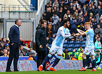 Blackburn Rovers' Joe Nuttall replaces Harrison Reed<br /> <br /> Photographer Alex Dodd/CameraSport<br /> <br /> The EFL Sky Bet Championship - Blackburn Rovers v Preston North End - Saturday 9th March 2019 - Ewood Park - Blackburn<br /> <br /> World Copyright © 2019 CameraSport. All rights reserved. 43 Linden Ave. Countesthorpe. Leicester. England. LE8 5PG - Tel: +44 (0) 116 277 4147 - admin@camerasport.com - www.camerasport.com